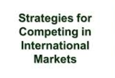 Purpose: This task provides an opportunity for you to identify and analyse an example of how a firm has responded to global pressures in competing internationally, allowing you to apply concepts from the course. Product: Analysis of a cross-border strategy: Analyse the performance of a firm competing in a foreign market using theory to support your argument (i.e. the resource-based view, market-based view etc). advantages and disadvantages of entering international markets, strategies for competing in global markets slideshare, four international business strategies, global strategy example, international strategy, advantages and disadvantages of competition in a market, disadvantages of competition in business, advantages and disadvantages of international strategy, importance of international competitive advantage, list of competitive advantages, competitive advantage examples, competitive advantage in strategic management, competitive advantage strategies, competitive advantage in business, benefits of competitive advantage, sustainable competitive advantage,