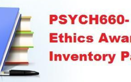 Details: Write a 1,050- to 1,250-word summary of your findings. Address the following: Explain the importance of understanding your personal ethical perspective. Analyze the relationship between personal and professional ethics in psychology.Discuss how the APA decision-making process facilitates more ethical professional behavior.Describe how your ethical awareness inventory scores relate to the concept of aspirational and enforceable standards. analyze the relationship between personal and professional ethics in psychology, importance of personal ethics in business, personal ethics examples, principles of personal ethics, importance of ethics in life, personal code of ethics examples, importance of ethics in personal life, personal ethics wikipedia, williams institute ethics awareness inventory, ethical awareness inventory scores relate to the concept of aspirational and enforceable standards, ethics awareness inventory test,